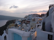 Oia, where I would like to just stay forever.