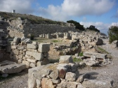 The ruins of ancient Thera