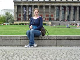 Me, after I first arrived in Berlin, September 2008