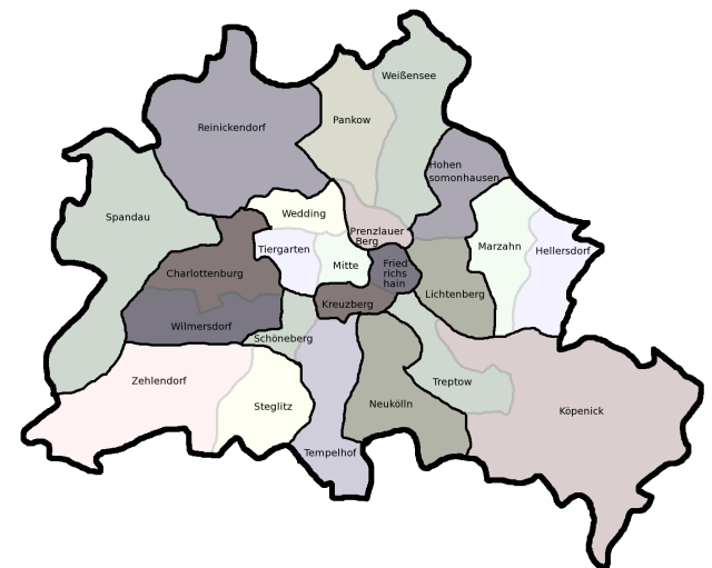 Berlin's neighborhoods