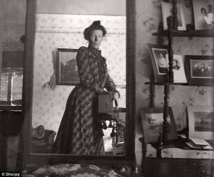 Woman from early 1900s